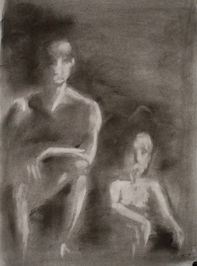 coup de crayon frédérique roche art galerie peinture tableaux creation dessin acrylique rêve évasion exposition bienveillance joie
