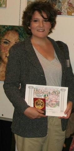 Frédérique Roche Exposition Sorèze 2017 Médaille d'or
