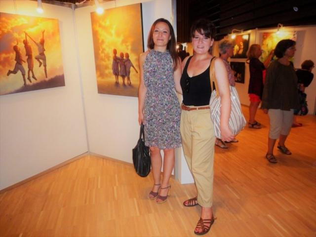 Frédérique Roche Exposition Balma 2017