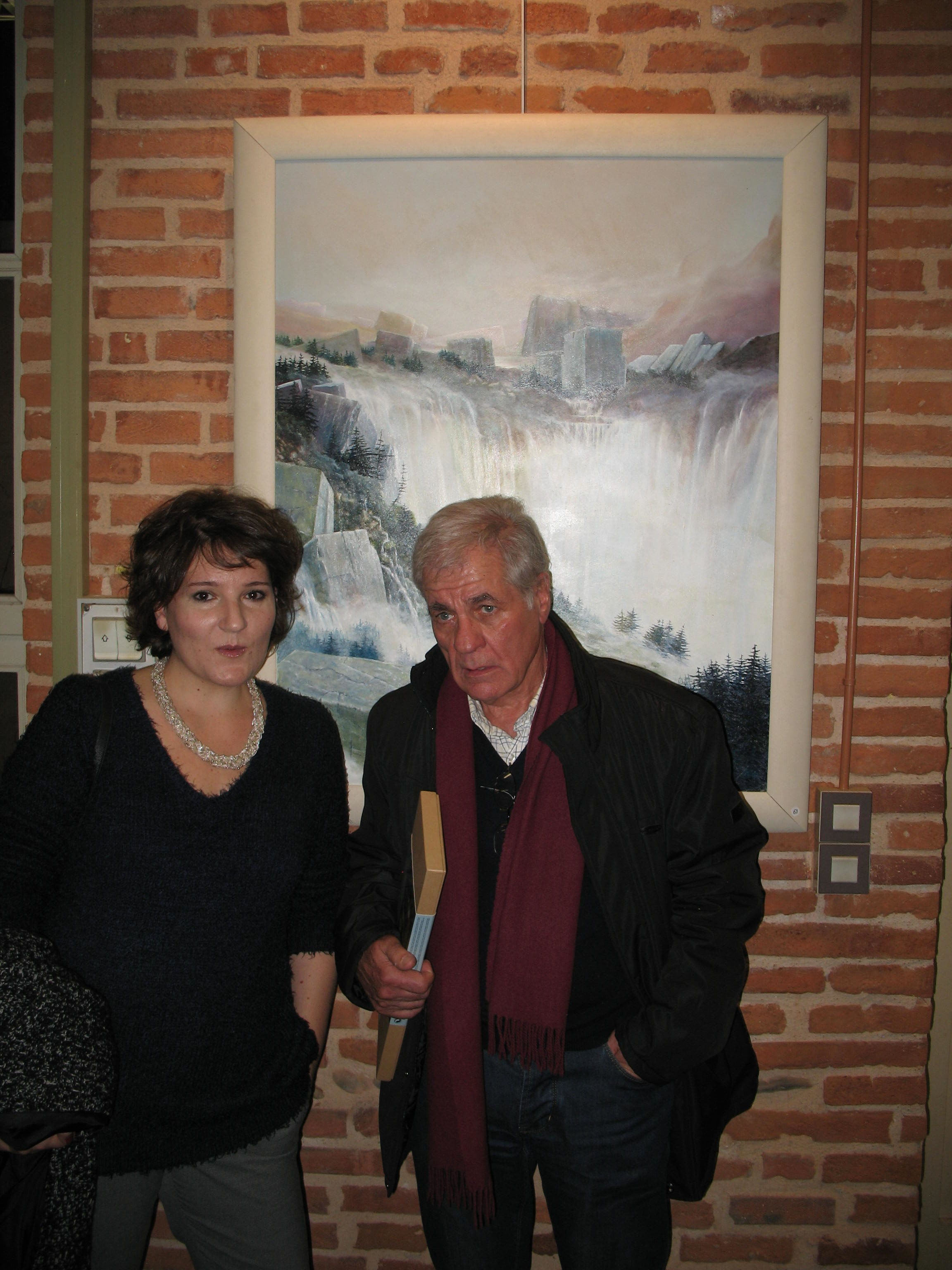 Salon d'Automne D'Albi 2017 Frédérique Roche et Didier Lissardy