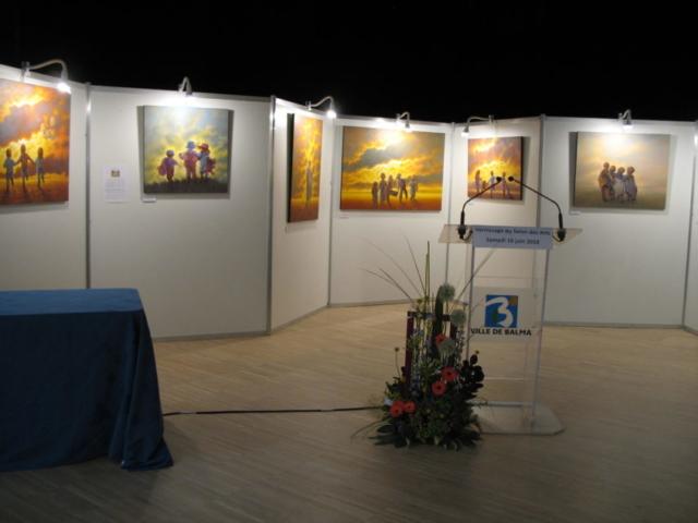 Frédérique Roche Exposition Balma 2018