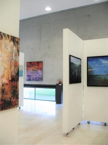 Frédérique Roche Cugnaux 2019, Expositions, Tableaux, Technique Mixte