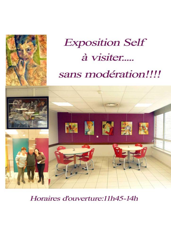 Clémence Caruana Frédérique Roche Exposition